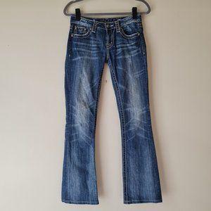 MISS ME light BOOT CUT DENIM Jeans size 27
